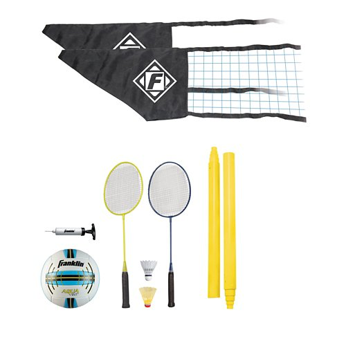 Franklin Quik Set Volleyball and Badminton Combo