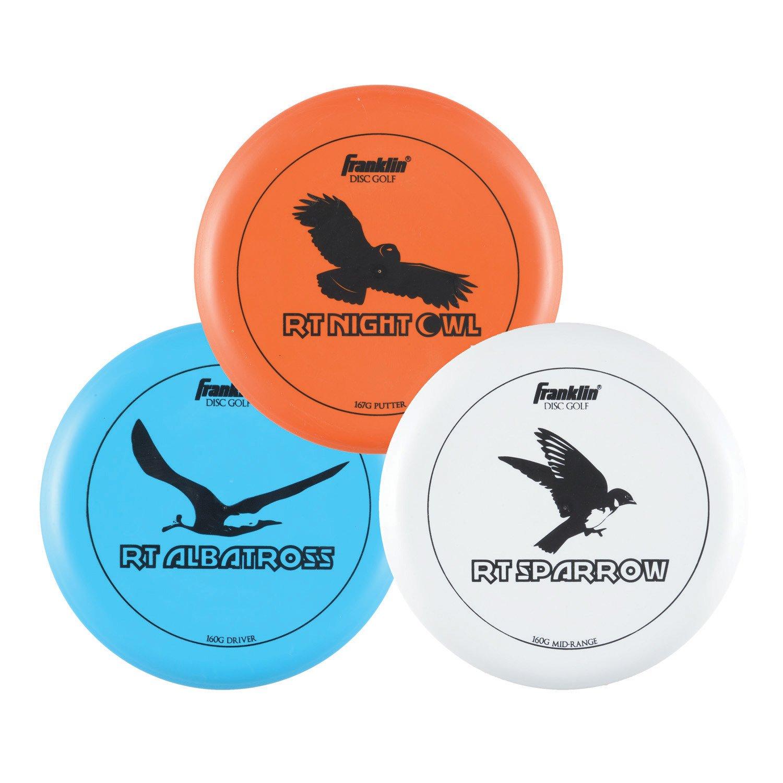 Franklin Disc Golf Discs 3-Pack
