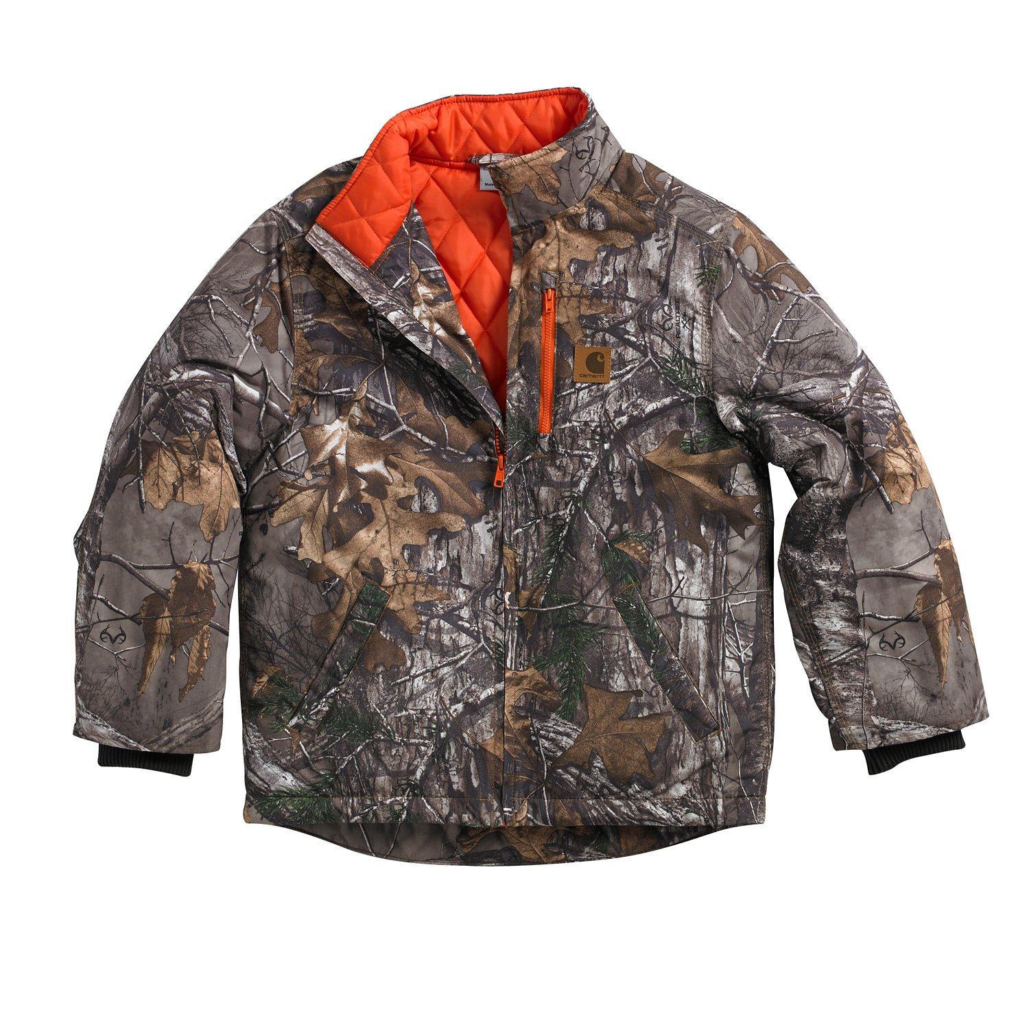e2eb8529c Display product reviews for Carhartt Boys' Quilted Flannel Realtree Xtra  Camo Jacket