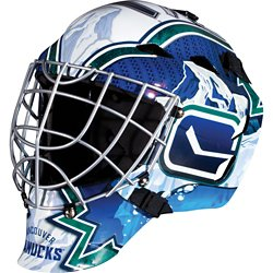 Franklin Boys' Vancouver Canucks GFM 1500 Goalie Face Mask