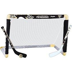 Franklin Pittsburgh Penguins Mini Hockey Goal Set
