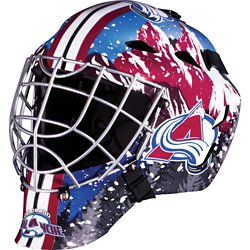 Boys' Colorado Avalanche GFM 1500 Goalie Face Mask