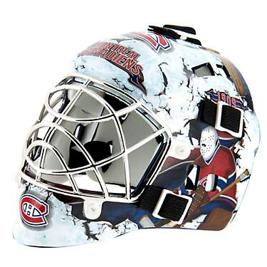 Franklin NHL Team Series Montreal Canadians Mini Goalie Mask