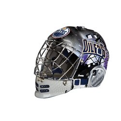 Franklin NHL Team Series Edmonton Oilers Mini Goalie Mask