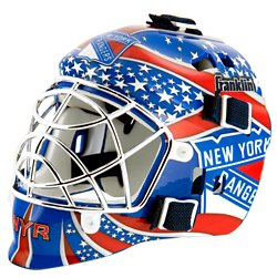 NHL Team Series New York Rangers Mini Goalie Mask