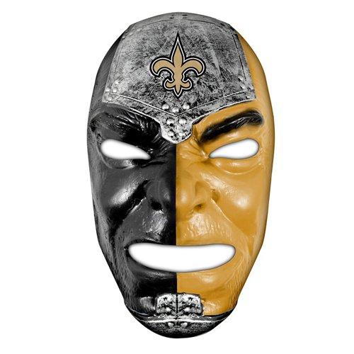 Franklin Adults' New Orleans Saints Fan Face Mask