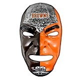 Franklin Adults' Cleveland Browns Fan Face Mask