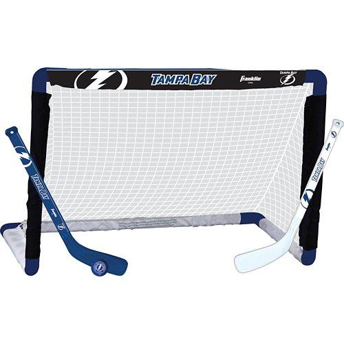 Franklin Tampa Bay Lightning Mini Hockey Goal Set