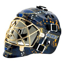 Franklin NHL Team Series St. Louis Blues Mini Goalie Mask