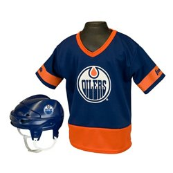 Franklin Kids' Edmonton Oilers Uniform Set