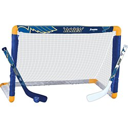 Franklin St. Louis Blues Mini Hockey Goal Set