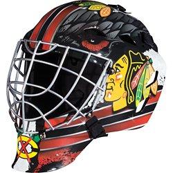 Franklin Boys' Chicago Blackhawks GFM 1500 Goalie Face Mask
