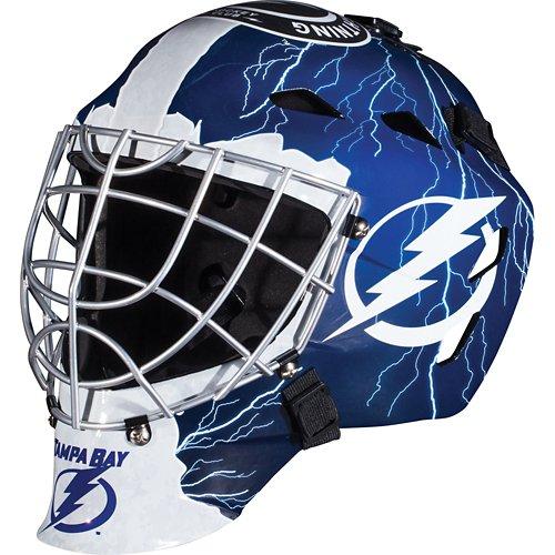 Franklin Boys' Tampa Bay Lightning GFM 1500 Goalie Face Mask
