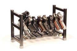 Hyskore® Mega Stacking 8-Gun Hand Gun Racking System
