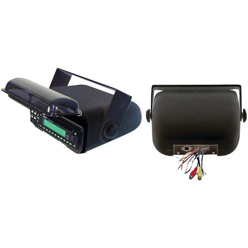 Pyle Universal Marine Stereo Housing with Full Wired Casing