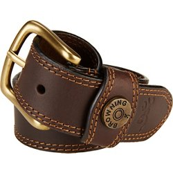 Men's Leather Slug Belt