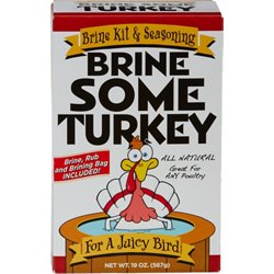 Brine Some Turkey Brine and Seasoning Kit
