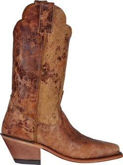 Justin Women's Bent Rail Tan Road Western Boots