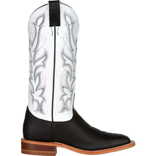 Justin Women's Bent Rail Burnished Calf Western Boots