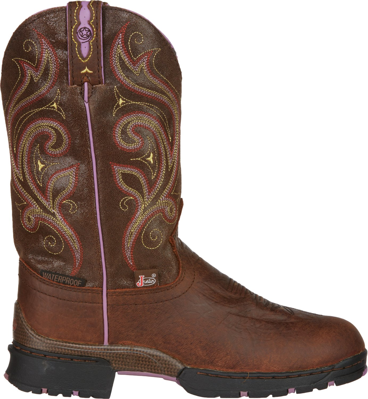 b72bce31291 Justin Women's George Strait Western Boots