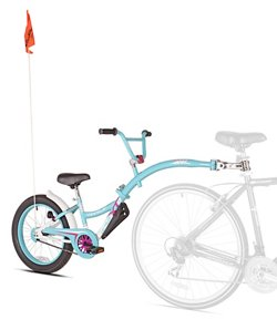 WeeRide Girls' Co-Pilot XT Tow-Behind Cycling Trainer