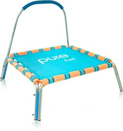 Pure Fun Kids' Jumper Trampoline with Handrail