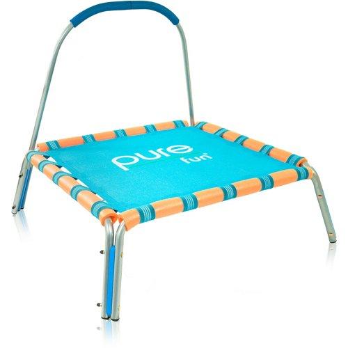Pure Fun Kids' Jumper Trampoline with Handrail
