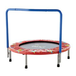 Kids' 36 in Trampoline with Handrail