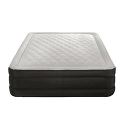Air Comfort Deep Sleep Queen Raised Air Mattress with Built In Pump