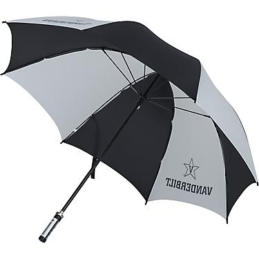 24a56b6801b8 Storm Duds Vanderbilt University Fiberglass Shaft Golf Umbrella with  Color-Coordinated ID Handle