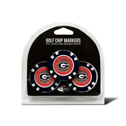 Team Golf University of Georgia Poker Chip and Golf Ball Marker Set