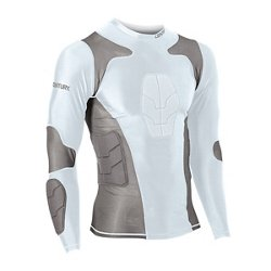 Century Adults' Padded Long Sleeve Compression Shirt
