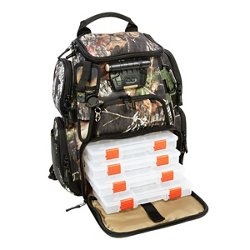Wild River Tackle Tek Recon Mossy Oak Camo Lighted Fishing Backpack