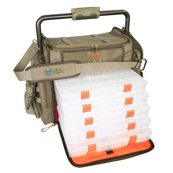 Wild River® Tackle Tek™ Frontier Lighted Bar Handle Tackle Bag - view number 2