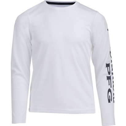 b6892f31dbb Columbia Sportswear Boys' PFG Terminal Tackle Long Sleeve T-shirt ...