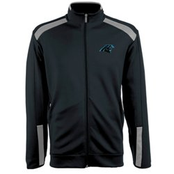 Antigua Men's Carolina Panthers Flight Jacket