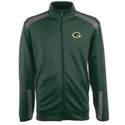 Antigua Men's Green Bay Packers Flight Jacket