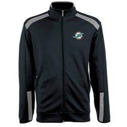 Antigua Men's Miami Dolphins Flight Jacket
