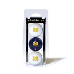 Team Golf University of Michigan Golf Balls 3-Pack