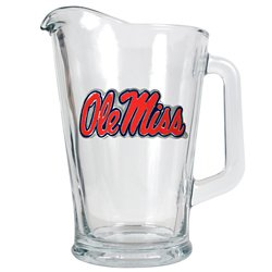 Great American Products University of Mississippi 1/2-Gallon Glass Pitcher
