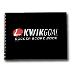 Oversized Soccer Score Book