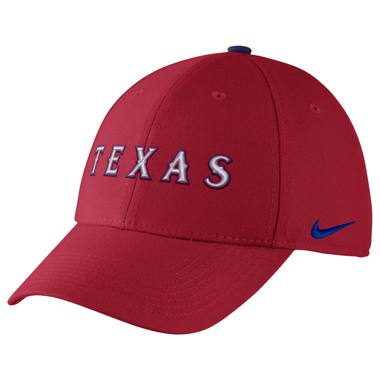 d31618f3 Nike™ Adults' Texas Rangers Classic Dri-FIT Swoosh Flex Cap | Academy