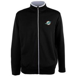 Antigua Men's Miami Dolphins Leader Jacket