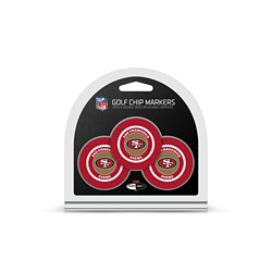 San Francisco 49ers Poker Chip and Golf Ball Marker Set