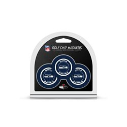 Seattle Seahawks Poker Chip and Golf Ball Marker Set