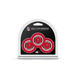 Tampa Bay Buccaneers Poker Chip and Golf Ball Marker Set