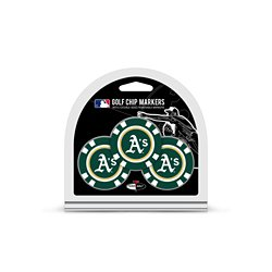 Oakland Athletics Poker Chip and Golf Ball Marker Set
