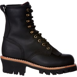 Women's Oiled Insulated Logger Lace Up Boots