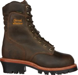 Men's Bay Apache Logger Steel Toe Rugged Outdoor Boots