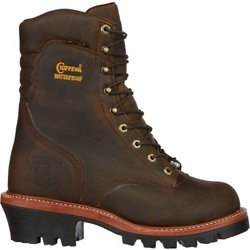 Men's Bay Apache Super Logger Insulated Lace Up Work Boots